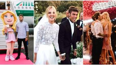 從私人飛機到「遊樂園」婚禮!搶先看「百萬部落客」Chiara Ferragni 世紀婚宴全記錄!