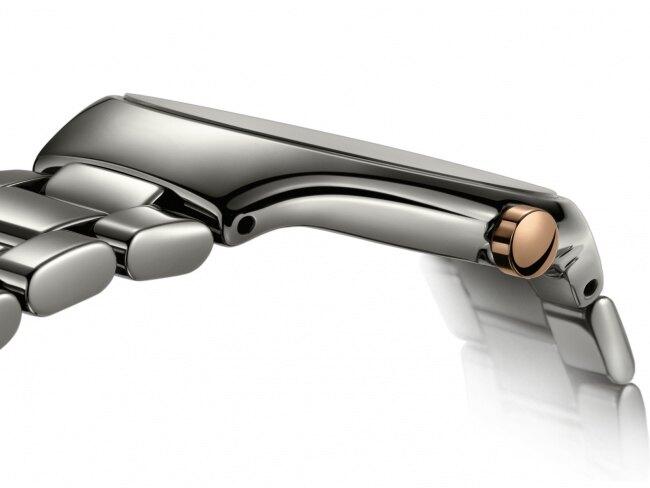 RADO雷達 RADO True Thinline真薄系列 鑲鑽腕錶 30mm/ 店長推薦款 R27956722銀灰
