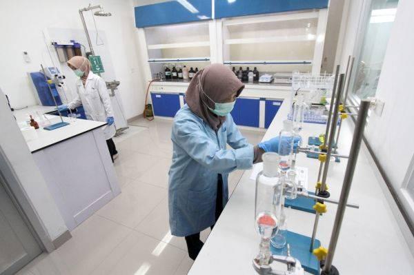 Laboratorium khusus mineral di Sentul, Bogor, Jawa Barat