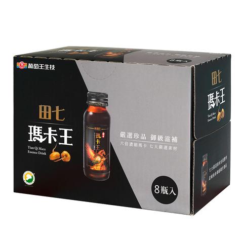 【熱銷口碑 6倍高濃縮】田七瑪卡王 8瓶