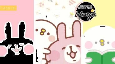 甜蜜心靈療癒系「P助與兔兔」21張精選萌爆桌布~少女心要爆發啦!