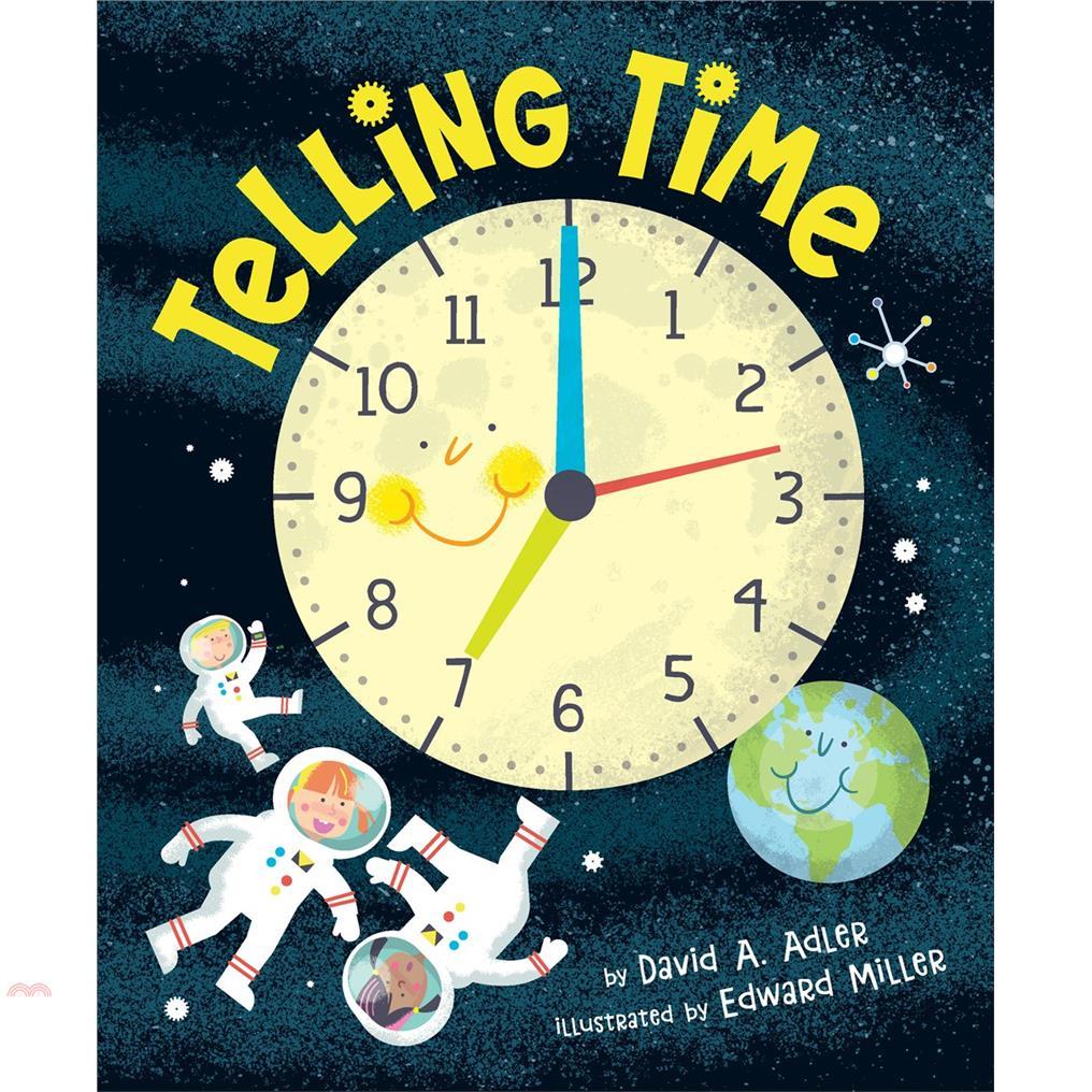 書名:Telling Time定價:315元ISBN13:9780823448401出版社:Holiday House作者:David A. Adler;Edward Miller(ILT)裝訂/頁數
