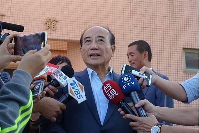 前立法院長王金平