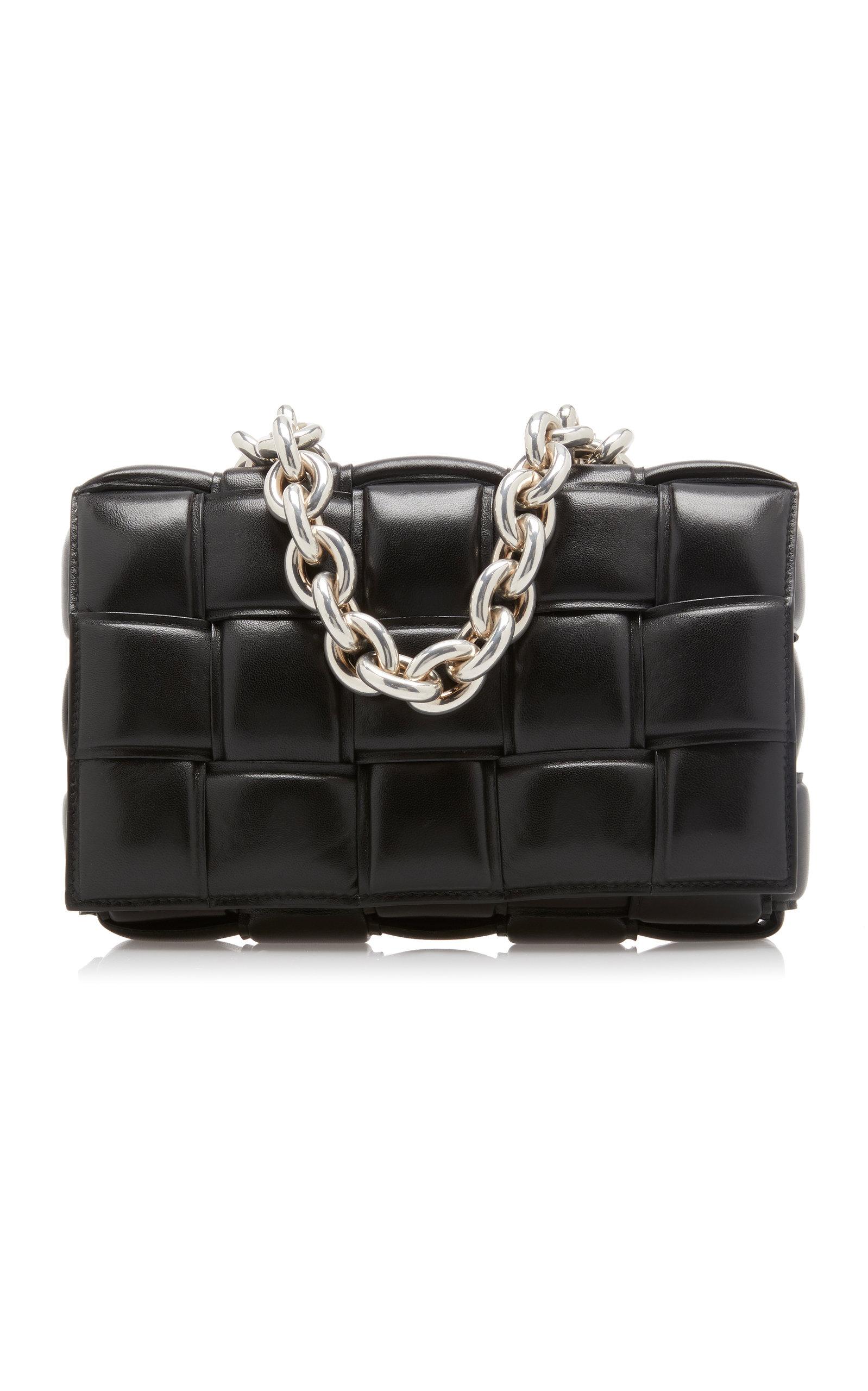 Woven using Bottega Veneta's distinguished intrecciato technique, this minimal crossbody bag is cons