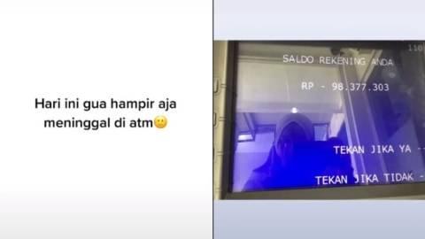 Aneh, Saldo Rekening Wanita Ini Minus Rp98 Juta saat Narik Uang dari ATM   (1)
