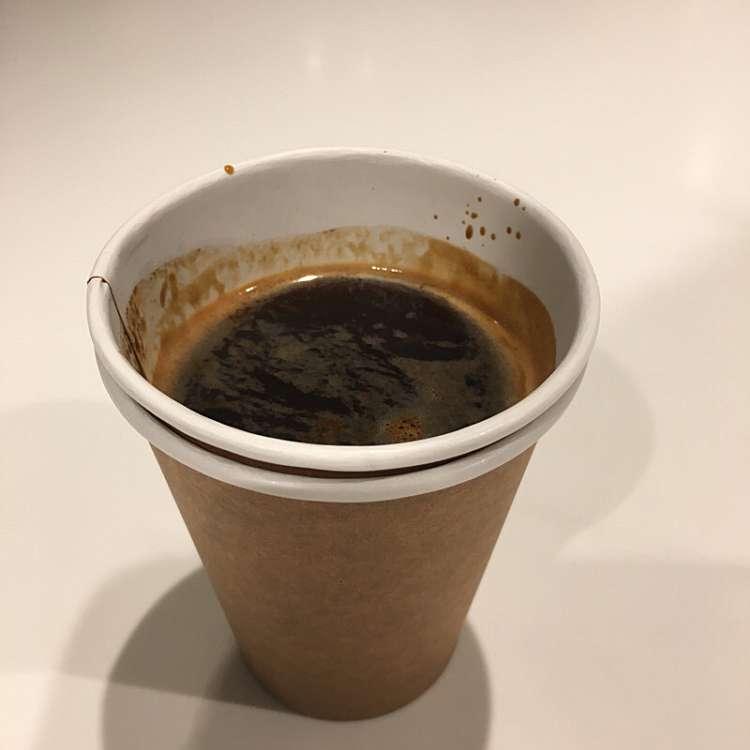 ユーザーが投稿したアメリカーノの写真 - ブルーボトルコーヒー 新宿カフェ店,ブルーボトルコーヒー シンジュクカフェテン(新宿/カフェ)
