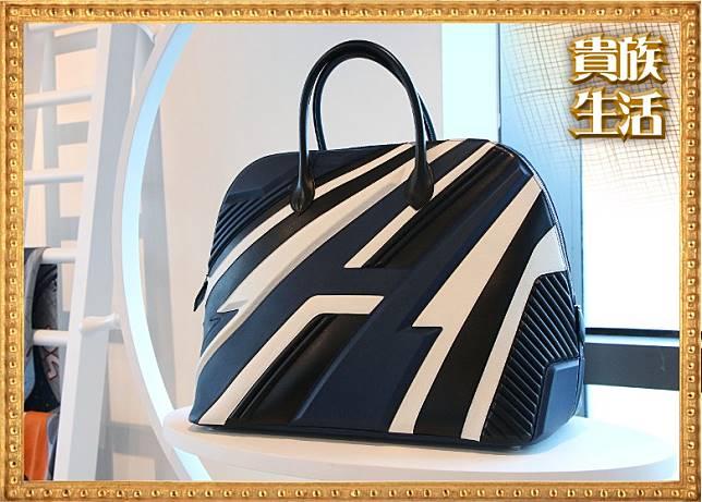 Hermes Bolide 1923-45 Racing小牛皮手袋 $226,900(盧展程攝)