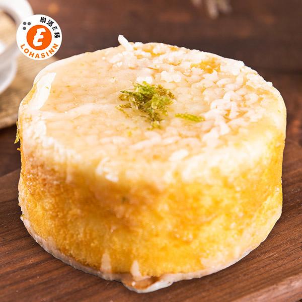 樂活e棧-生日快樂蛋糕-檸檬糖霜蛋糕(320g/顆)