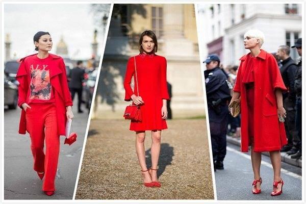 Ingin Tampil Stylish Saat Imlek 10 Padu Padan Busana Warna Merah