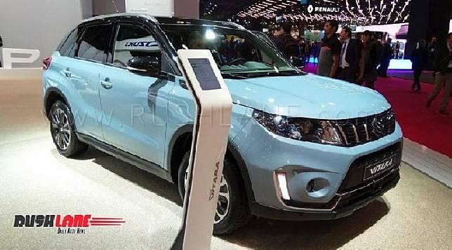 Toyota Vitara facelift 2019 di Paris Motor Show. Sumber: rushlane.com