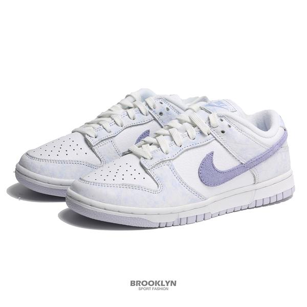 NIKE 休閒鞋 WMNS DUNK LOW YELLOW STRIKE 白紫 渲染 女 (布魯克林) DM9467-500