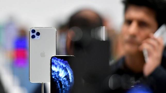 iPhone 11 Pro. [AFP/Josh Edelson]
