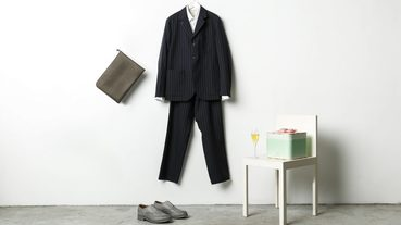 Hotel V Style Vol.04 / 不花俏而講究,優雅的成套西裝造型