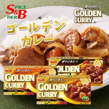 日本 SB 金咖哩 198g 金牌咖哩 金咖哩 咖哩包 咖哩 咖哩飯 咖哩塊 調理包 料理包