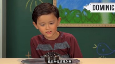 國外小孩嘗試喝台灣國民飲料「珍珠奶茶」 第一次喝入口的反應是...