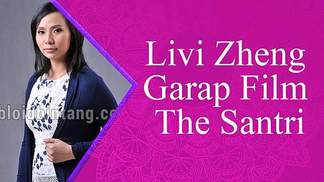 Livi Zheng Garap Film The Santri