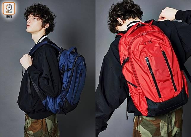 RN Travel Backpack兩側設有可調式扣環,因應載物容量調整厚度,最高容量達29L。(互聯網)