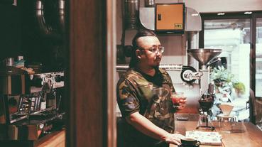 越洋聞香,與《咖啡關西》作者 CHEZ 喝咖啡、聊咖啡