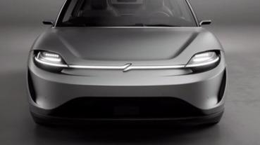 自家科技載好載滿,SONY 在 CES 展示電動車概念款 Vision S