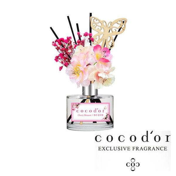韓國 cocod'or 春季蝶舞櫻花限定款室內擴香瓶 櫻花款(200ml)【美日多多】