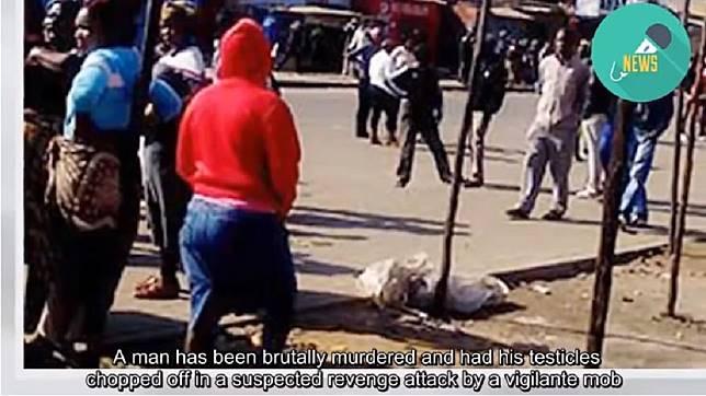 南非日前發生一起命案,當地警方介入調查。(圖/翻攝自YouTube)