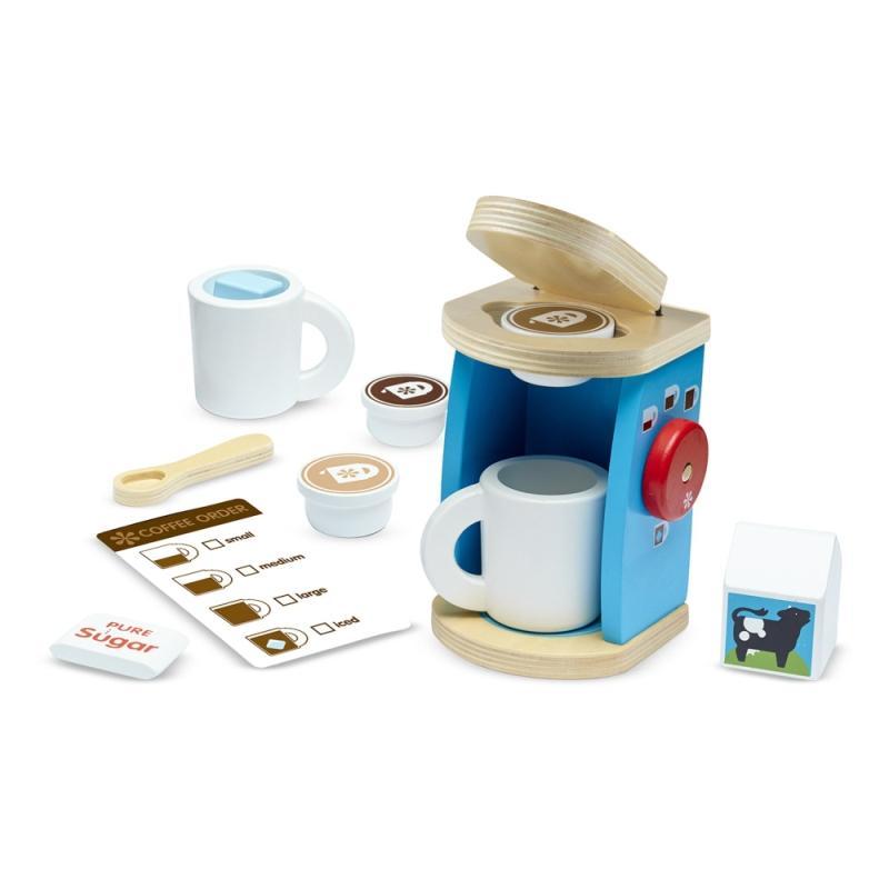 擬真玩具激發孩子的想像力及創造力 訓練寶寶手眼協調及手部小肌肉 豐富孩子對生活物品的認知 產品介紹 ◎ 小小咖啡師 讓咖啡香氣瀰漫整個空間 ◎ 擬真的膠囊咖啡機組,挑選自己喜歡的咖啡口味膠囊,放入膠囊