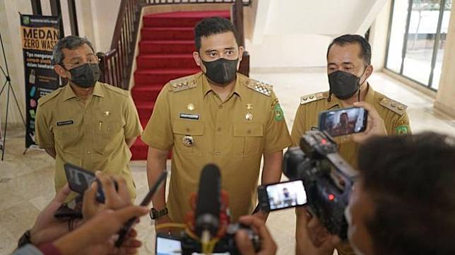 Wali Kota Medan Bobby Nasution. [Ist]