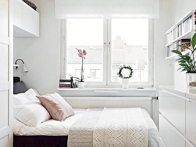 7 Ide Desain Kamar Tidur Kecil Mungil tapi Nyaman