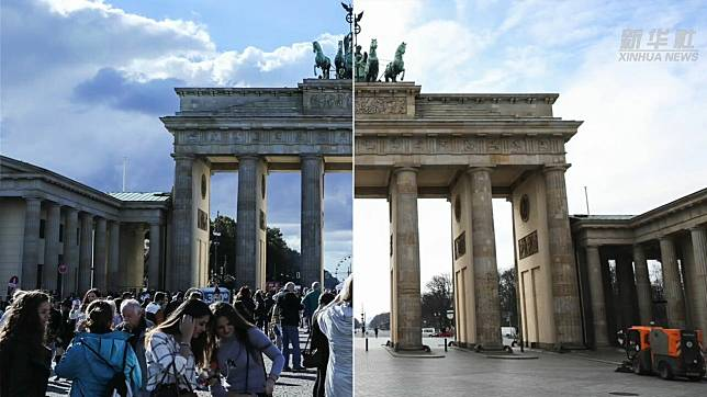 เทียบภาพ 'แหล่งท่องเที่ยวชื่อดัง' ก่อน-หลังวิกฤตโควิด-19
