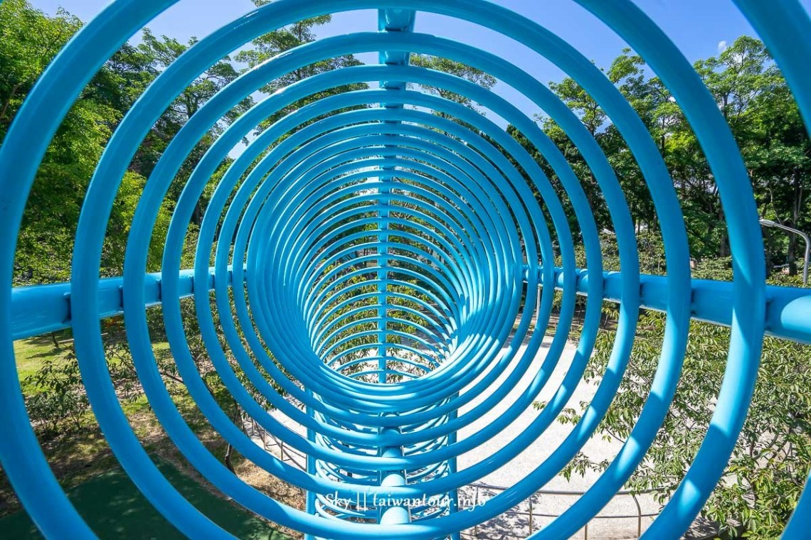 前港公園共融兒童遊戲場三樓空中通道