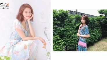 夏天就要跟著穿〜泡菜妹子的仙氣「碎花裙穿搭」,連韓劇女主角也是靠它開啟女神模式!