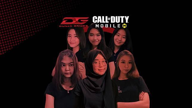 Yuk Kenalan dengan Roster Tim Ladies CODM DG Esports!