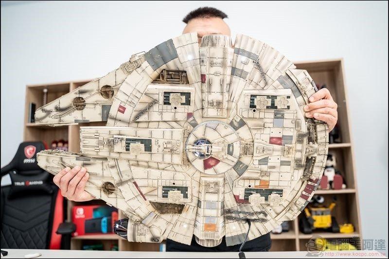 千年鷹號 Millennium Falcon 1:1 模型開箱 - 15
