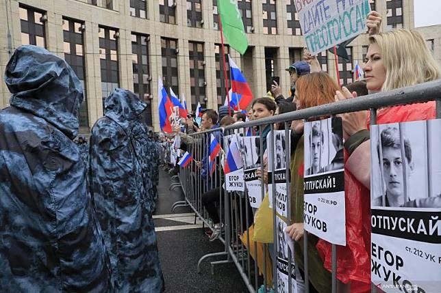 Kremlin sebut demonstrasi di Moskow tak sebabkan krisis politik