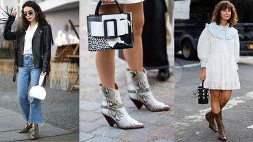 2019秋冬短靴流行趨勢一次看懂!動物紋、牛仔風...最值得入手的必買靴款是這5雙