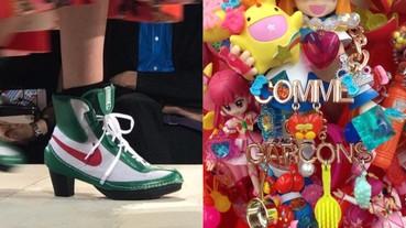 #PFW : Comme des Garçons 2018 春夏季,是由日本少女漫畫 、 Nike 、文藝復興所構成