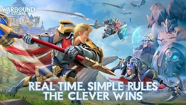 NetEase Resmi Rilis Game RTS Terbarunya, Warbound Storm di Android!