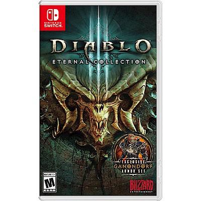 《暗黑破壞神 III:永恆之戰》內含《暗黑破壞神 III》遊戲﹑《奪魂之鐮》資料片與《死靈法師的崛起》組合包。7 種職業﹑5 個遊戲篇章,以及賽季等你來體驗屠魔。