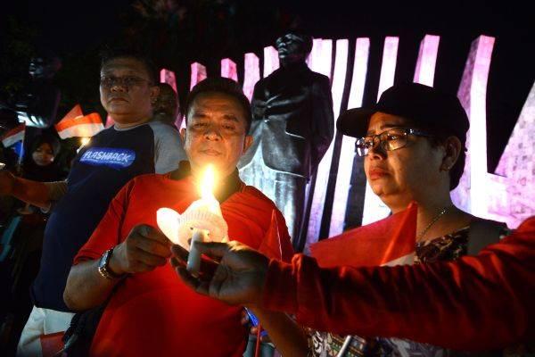 Aksi kita cinta Papua di Jakarta