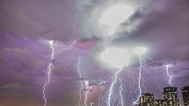 星際大戰開打?這居然是澳洲瘋狂的天氣異象