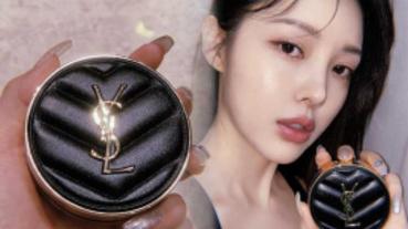 精品級美妝再+1!韓妞狂曬YSL奢華「皮革氣墊」9/4正式登台