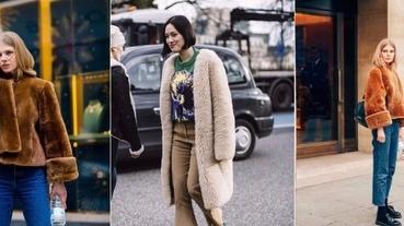 入冬裝萌又保暖,上街採購怎能不入手一件「泰迪熊外套」?