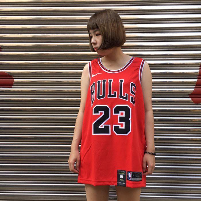 玉米潮流本舖 NIKE NBA Michael Jordan AO2915-657 喬丹 紅 芝加哥 客場 公牛 球衣
