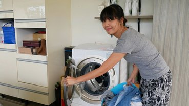 《滾筒洗衣機開箱篇》日本東芝TOSHIBA滾筒式洗衣機洗脫烘使用心得(TWD-DH120X5G)。日本熱銷機種。奈米悠浮泡泡令人滿意的潔淨度︱(影片)