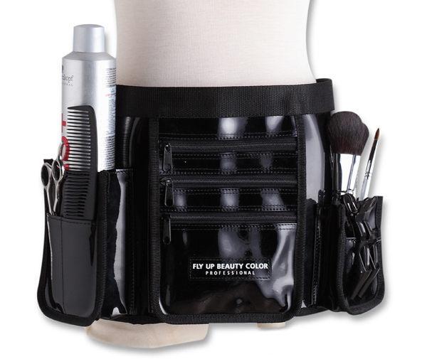 【FLY UP】幻色蝶影 專業時尚造型腰包 (整體造型師必備工具袋,多層次收納)