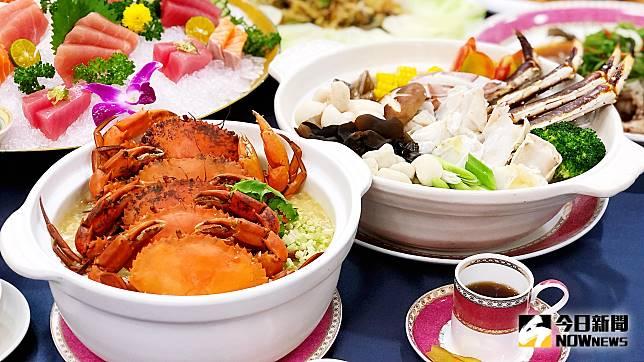 ▲中秋過後秋高氣爽,正是大啖各種螃蟹的最佳季節。(圖/記者陳美嘉攝)