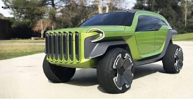 Jeep model konsep dari designer Le Yang Bai. Sumber: carscoops.com