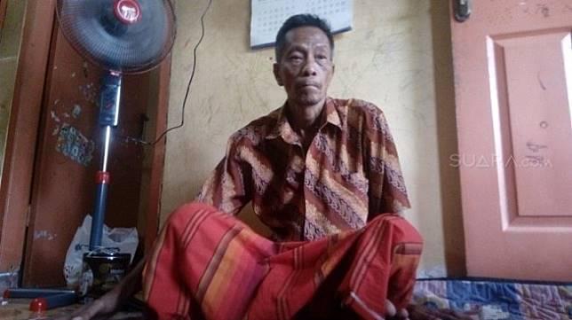 Rumah Tarmuji di perumahan Graha Indah blok MM5 desa Tambaboyo kecamatan Tikung Kabupaten Lamongan