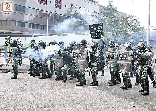 警民衝突在農曆7月恐有傷亡。