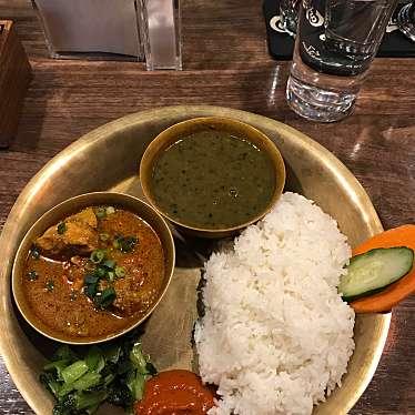 実際訪問したユーザーが直接撮影して投稿した大久保ネパール料理ネパール民族料理 アーガンの写真
